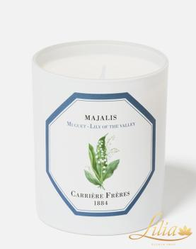 LUXURY AROMATIC CANDLE CARRIÈRE FRÈRE LILY OF THE VALLEY